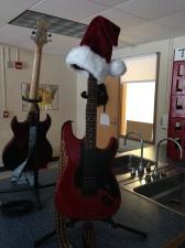 santa guitar